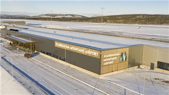 Tight tidplan innan Scandinavian Mountain Airport kan öppna